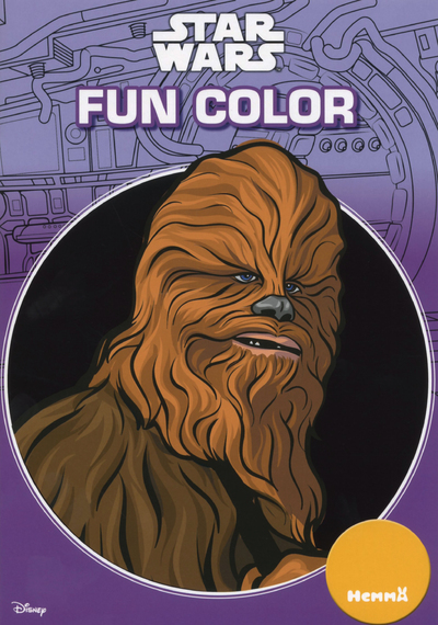 DISNEY STAR WARS FUN COLOR