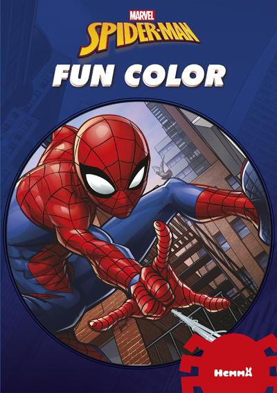 MARVEL SPIDER-MAN FUN COLOR