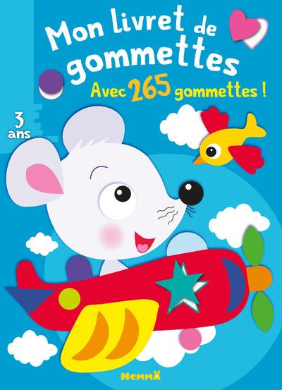 MON LIVRET DE GOMMETTES (SOURIS)
