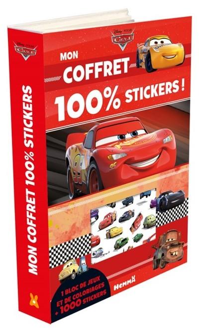 CARS MON COFFRET 100% STICKERS !