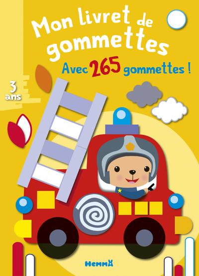 MON LIVRET DE GOMMETTES (CAMION DE POMPIER)