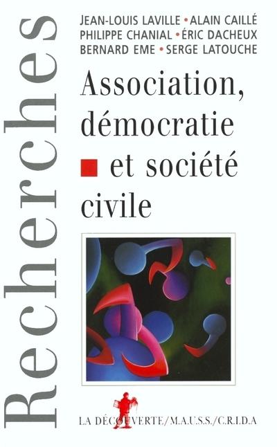 ASSOCIATION, DEMOCRATIE ET SOCIETE CIVILE