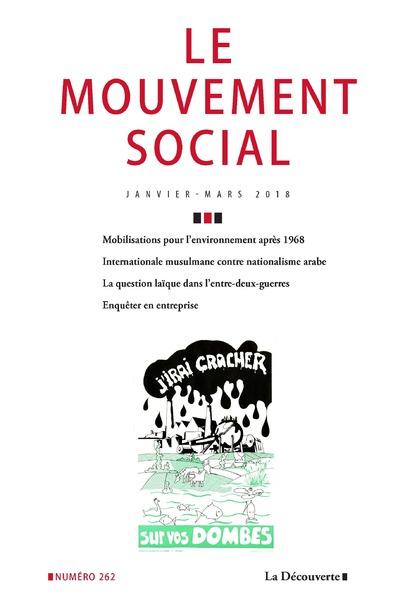 LE MOUVEMENT SOCIAL NUMERO 262 VARIA