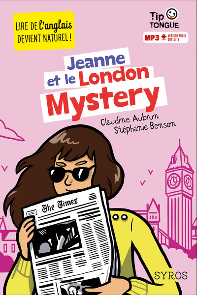 TIP TONGUE - JEANNE ET LE LONDON MYSTERY