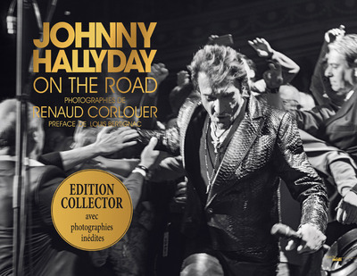 JOHNNY HALLYDAY - ON THE ROAD - EDITION COLLECTOR
