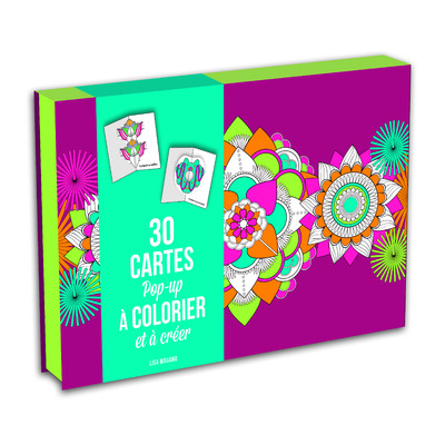 30 CARTES POP-UPS A COLORIER ET A CREER
