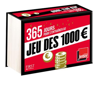 365 JOURS POUR S'ENTRAINER AU JEU DES 1000 EUROS