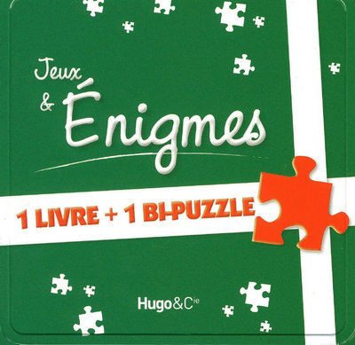 BOITE JEUX & ENIGMES - 1 LIVRE + 1 BI-PUZZLE