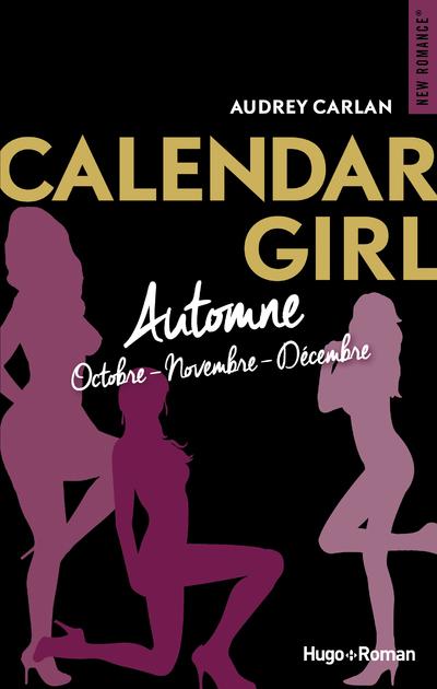 CALENDAR GIRL - AUTOMNE OCTOBRE-NOVEMBRE-DECEMBRE