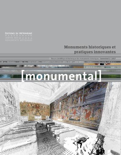 MONUMENTAL 2017-1 - MONUMENTS HISTORIQUES ET PRATIQUES INNOVANTES