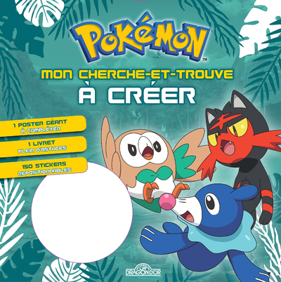 POKEMON - MON CHERCHE-ET-TROUVE A CREER (BRINDIBOU, FLAMIAOU, OTAQUIN)