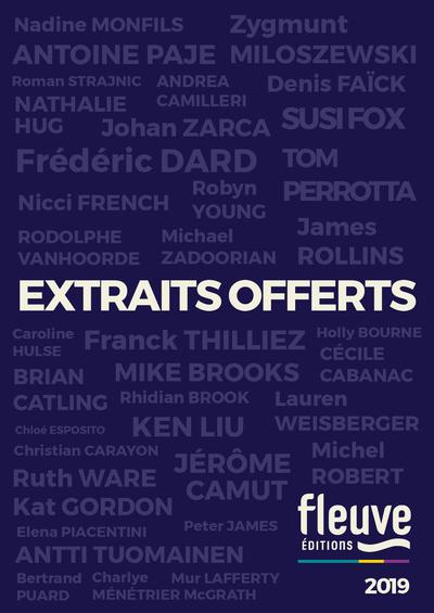 FLEUVE EDITIONS - EXTRAITS OFFERTS 2019