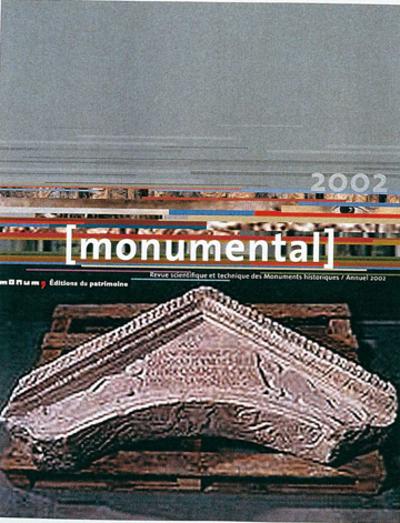 """MONUMENTAL ANNUEL 2002. DOSSIER """"PATRIMOINE ANTIQUE"""""""