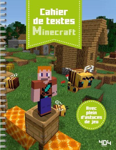 CAHIER DE TEXTES MINECRAFT 2019-2020