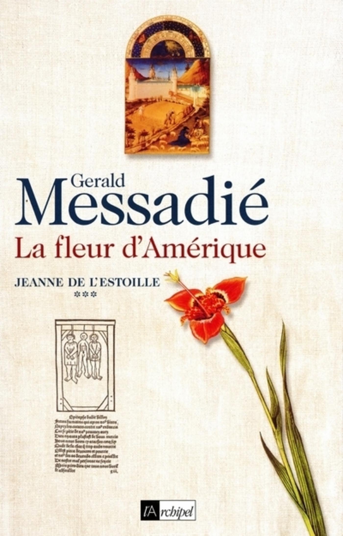 Jeanne de l'Estoille - tome 3 La fleur d'Amérique