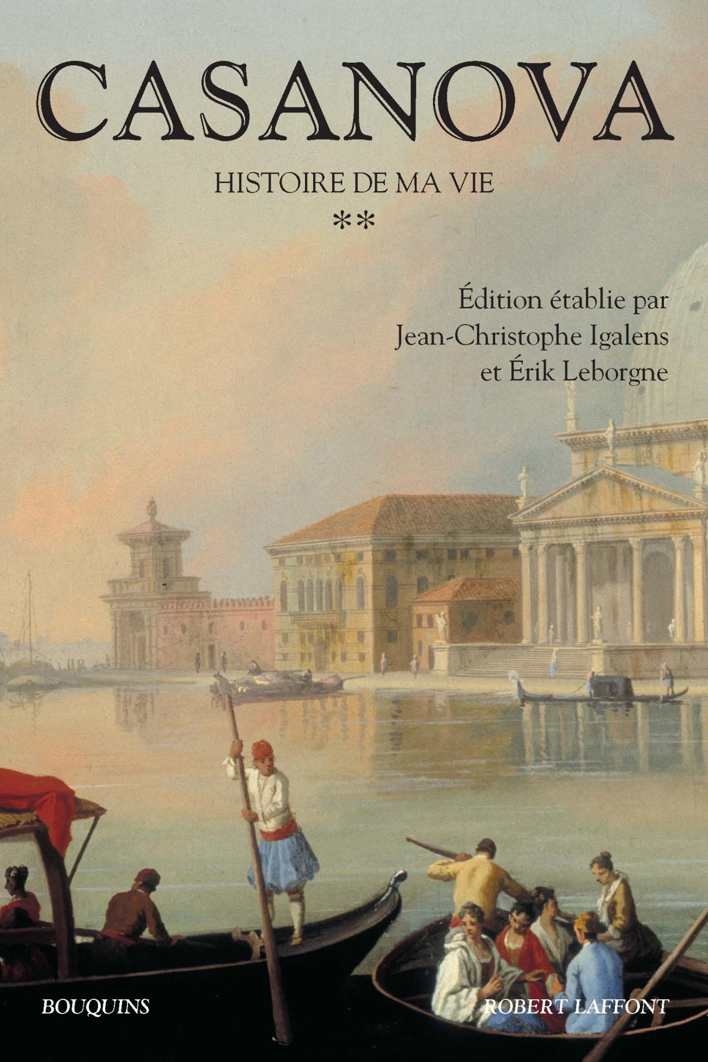 CASANOVA - HISTOIRE DE MA VIE - TOME 2 NE
