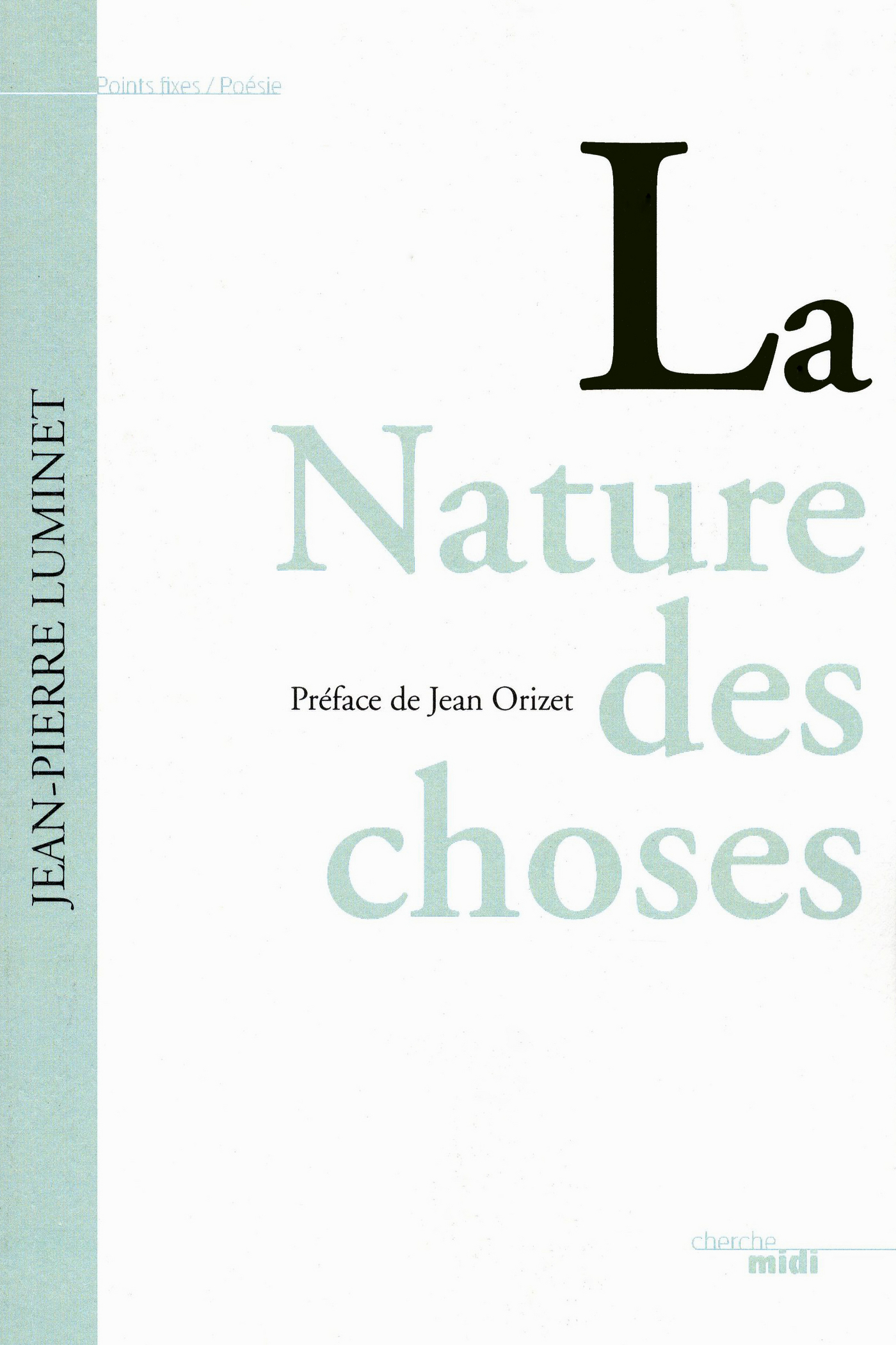 La Nature des choses (ebook)