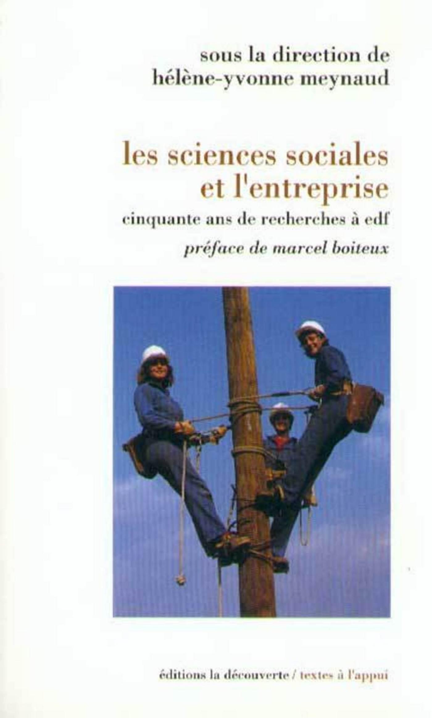 Les sciences sociales et l'entreprise