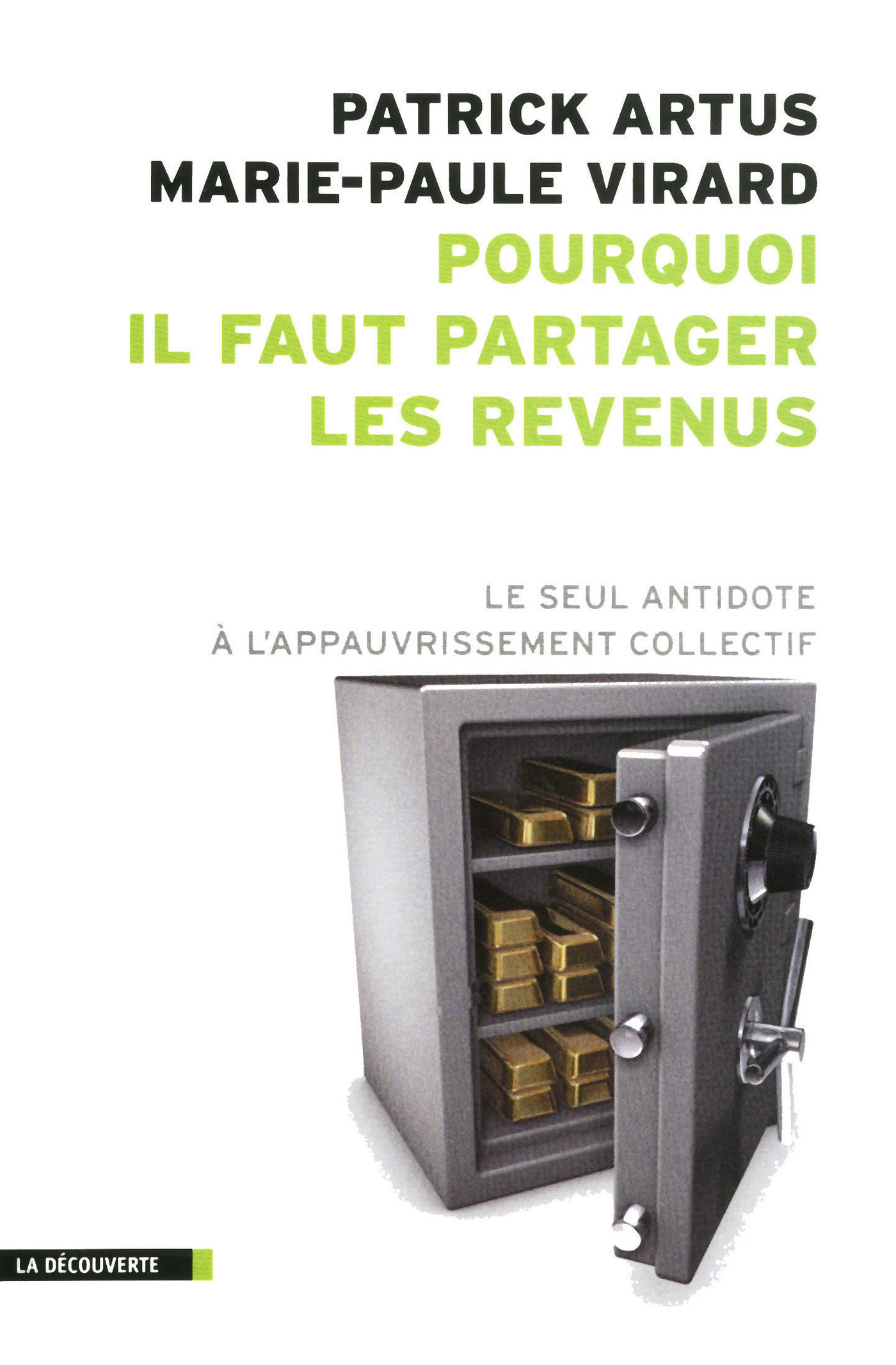 Pourquoi il faut partager les revenus (ebook)
