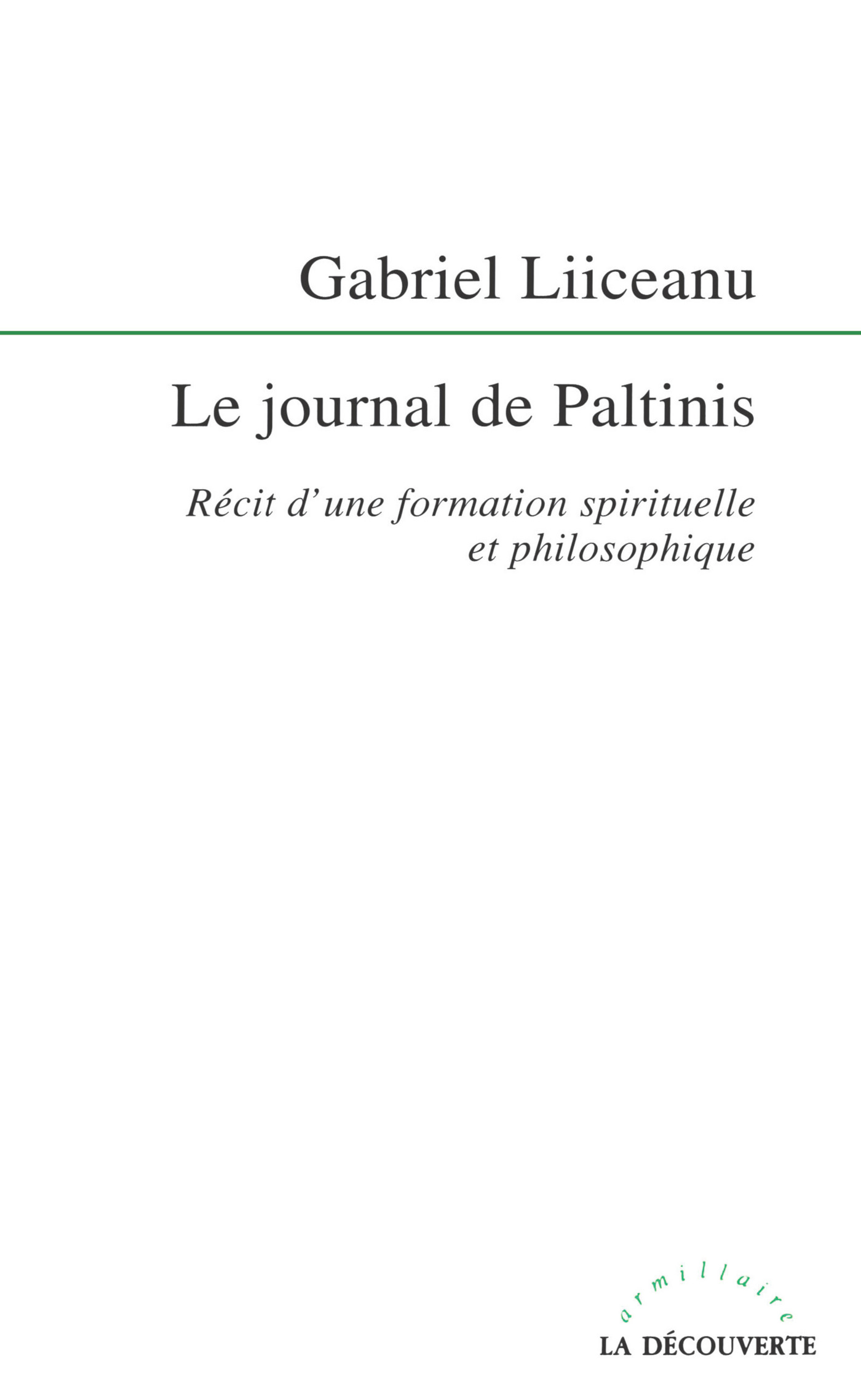 Le journal de Paltinis