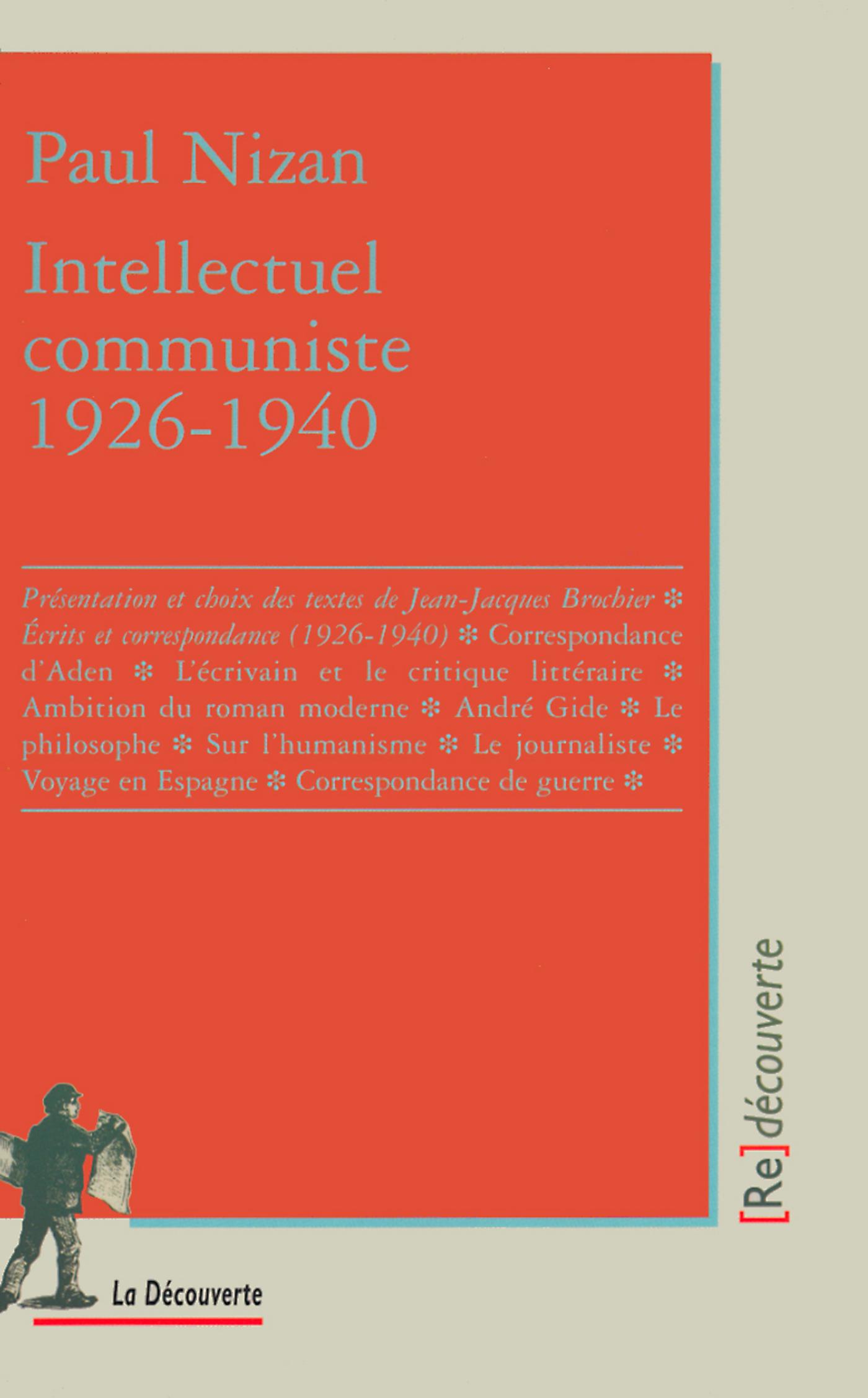 Intellectuel communiste (1926-1940) (ebook)