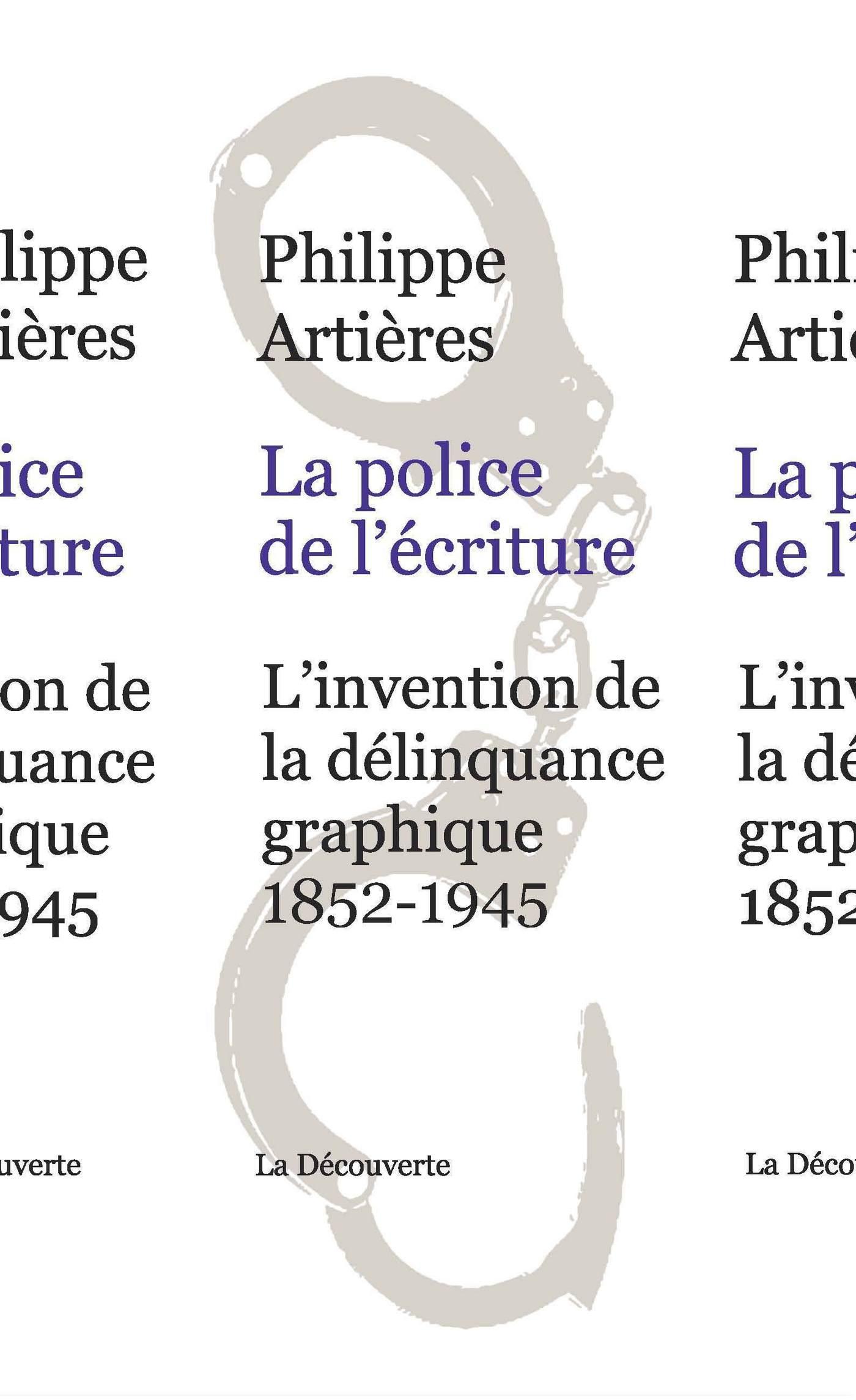 La police de l'écriture (ebook)