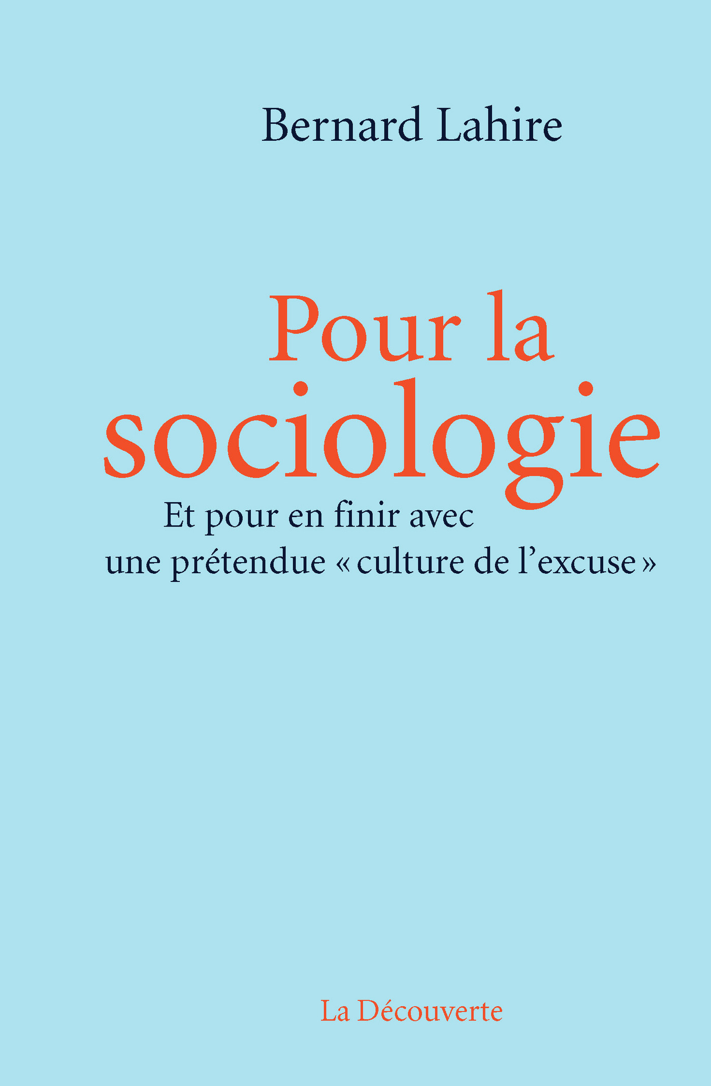 Pour la sociologie (ebook)