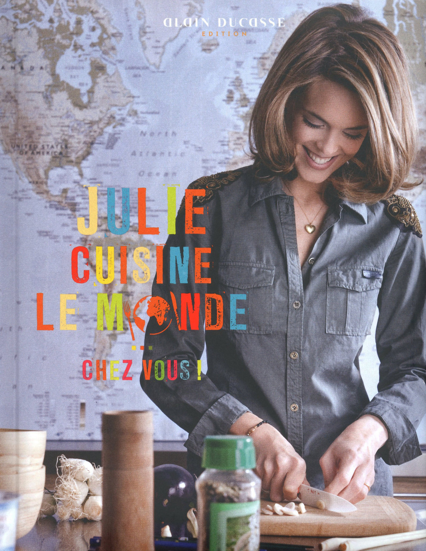 Julie cuisine le monde (ebook)