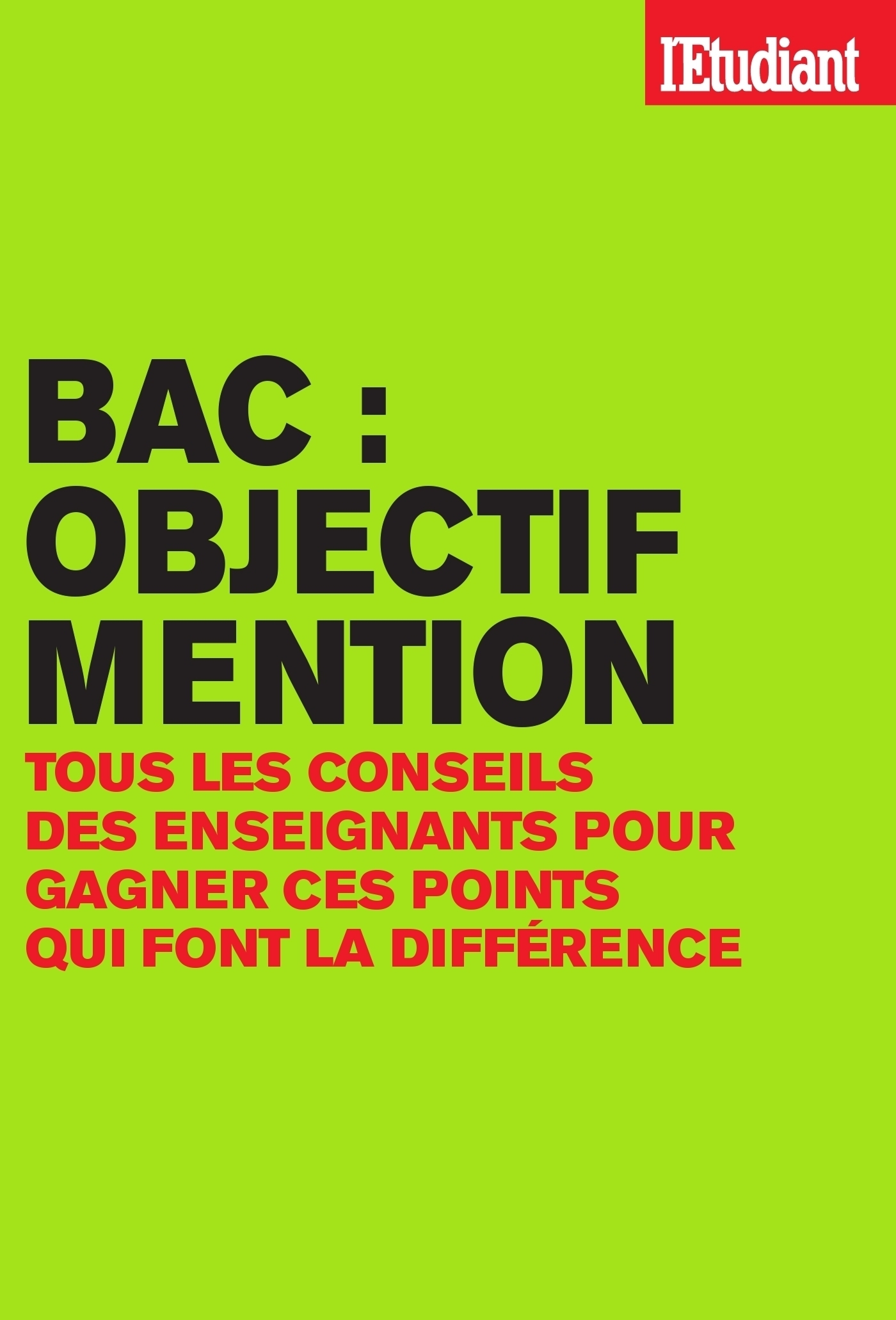Bac : objectif mention (ebook)