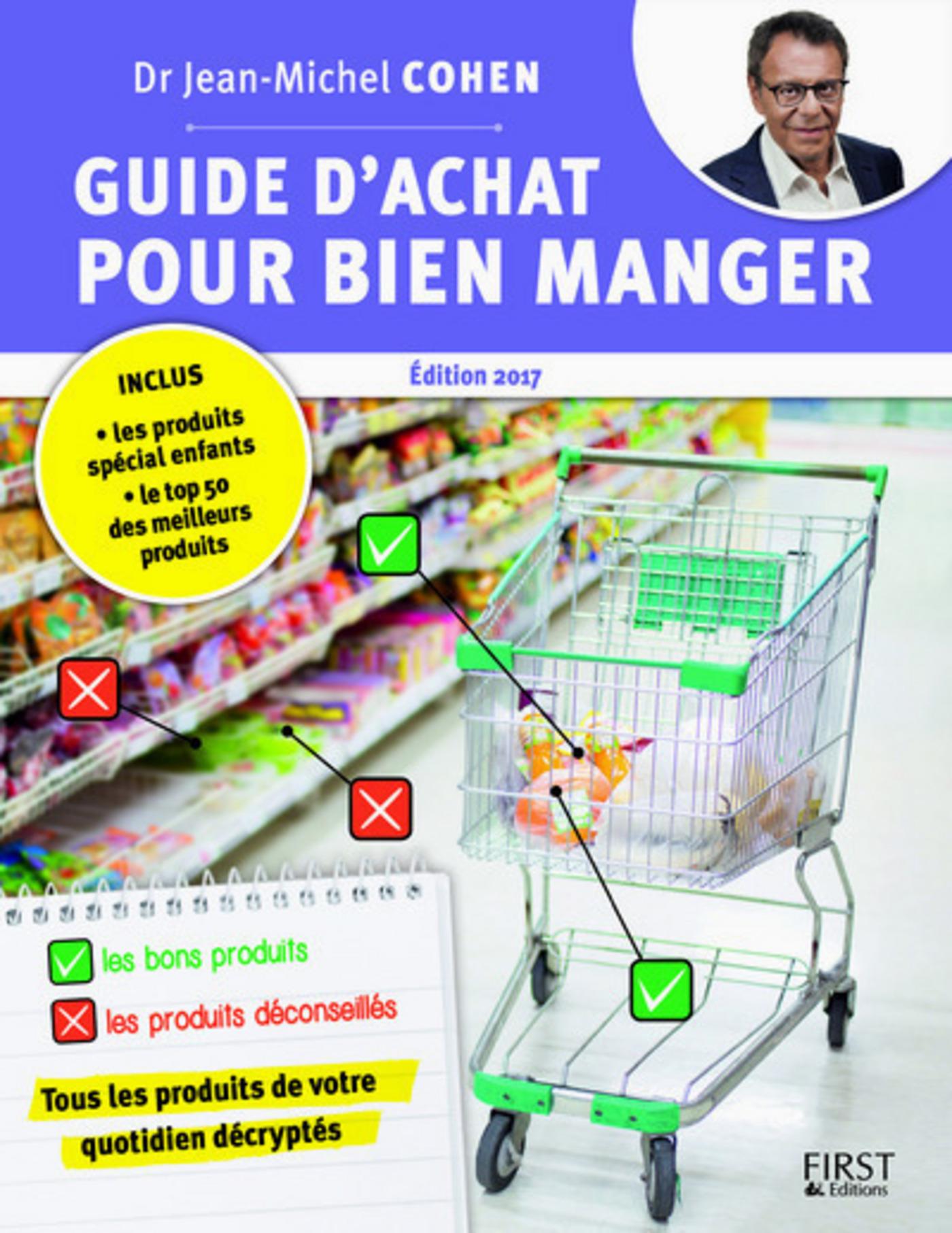 Guide d'achat pour bien manger, 2e édition (ebook)