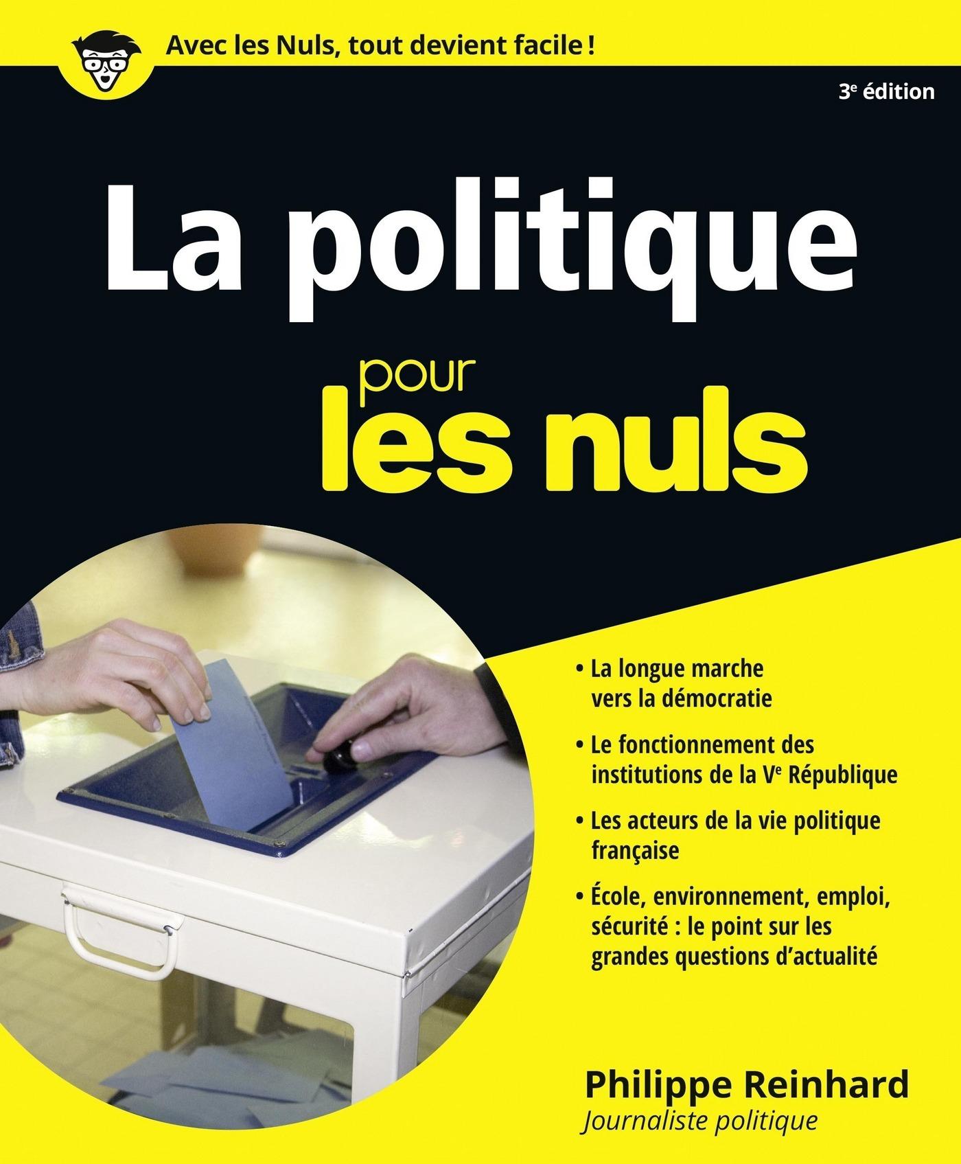 La Politique pour les Nuls, 3e (ebook)