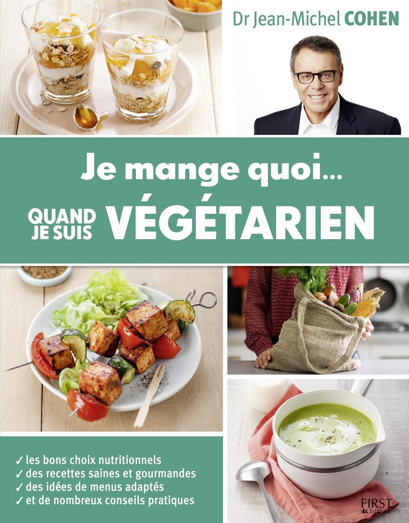 Je mange quoi quand je suis végétarien