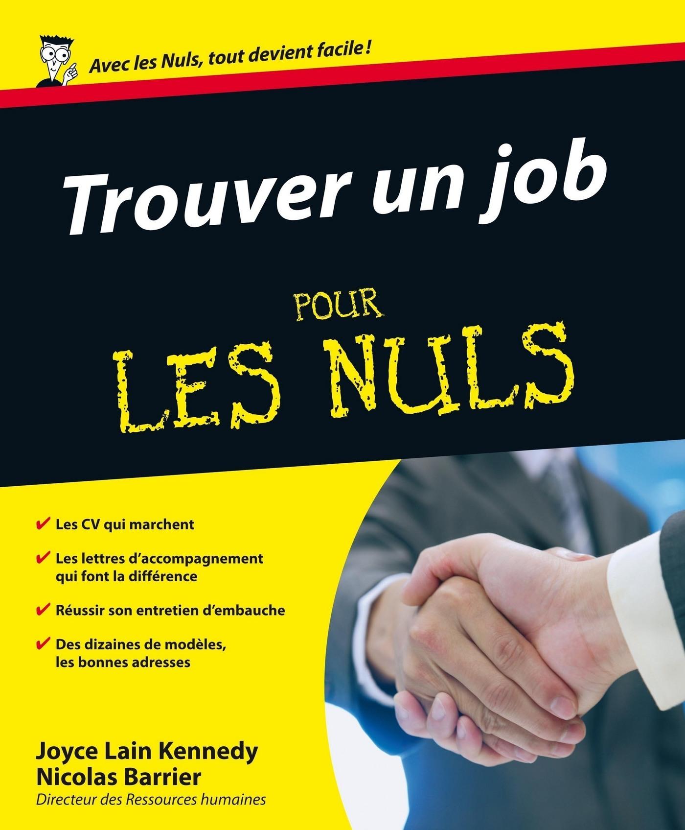 Trouver un job Pour les Nuls (ebook)
