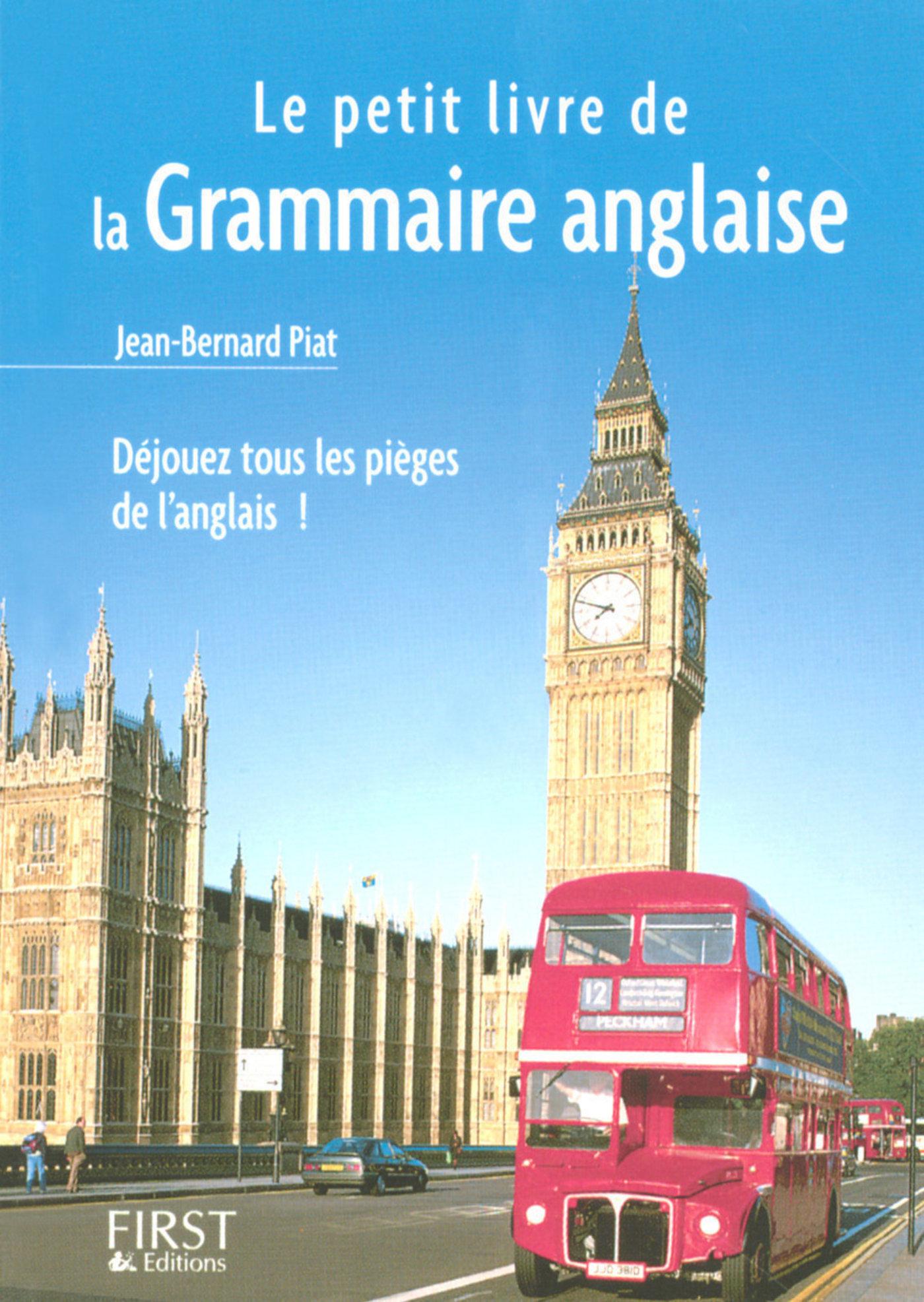 Le Petit Livre de - Grammaire anglaise (ebook)