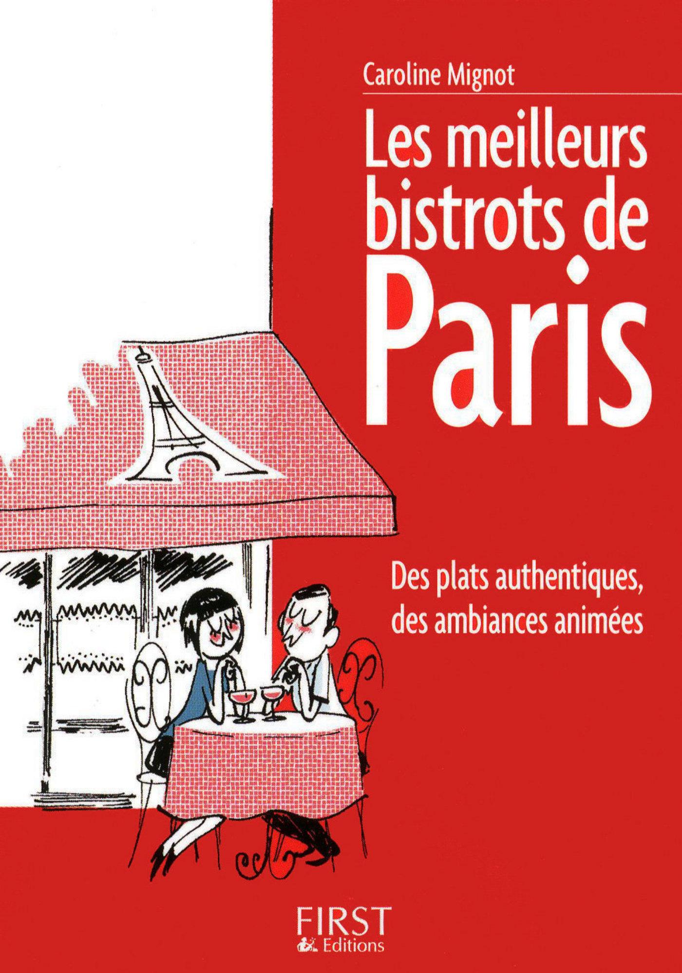 Le Petit Livre de - Les meilleurs bistrots de Paris