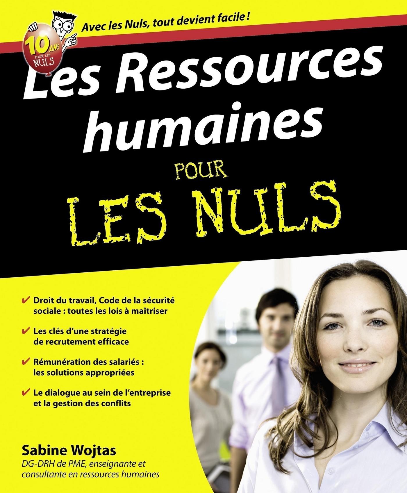 Les ressources humaines Pour les Nuls (ebook)