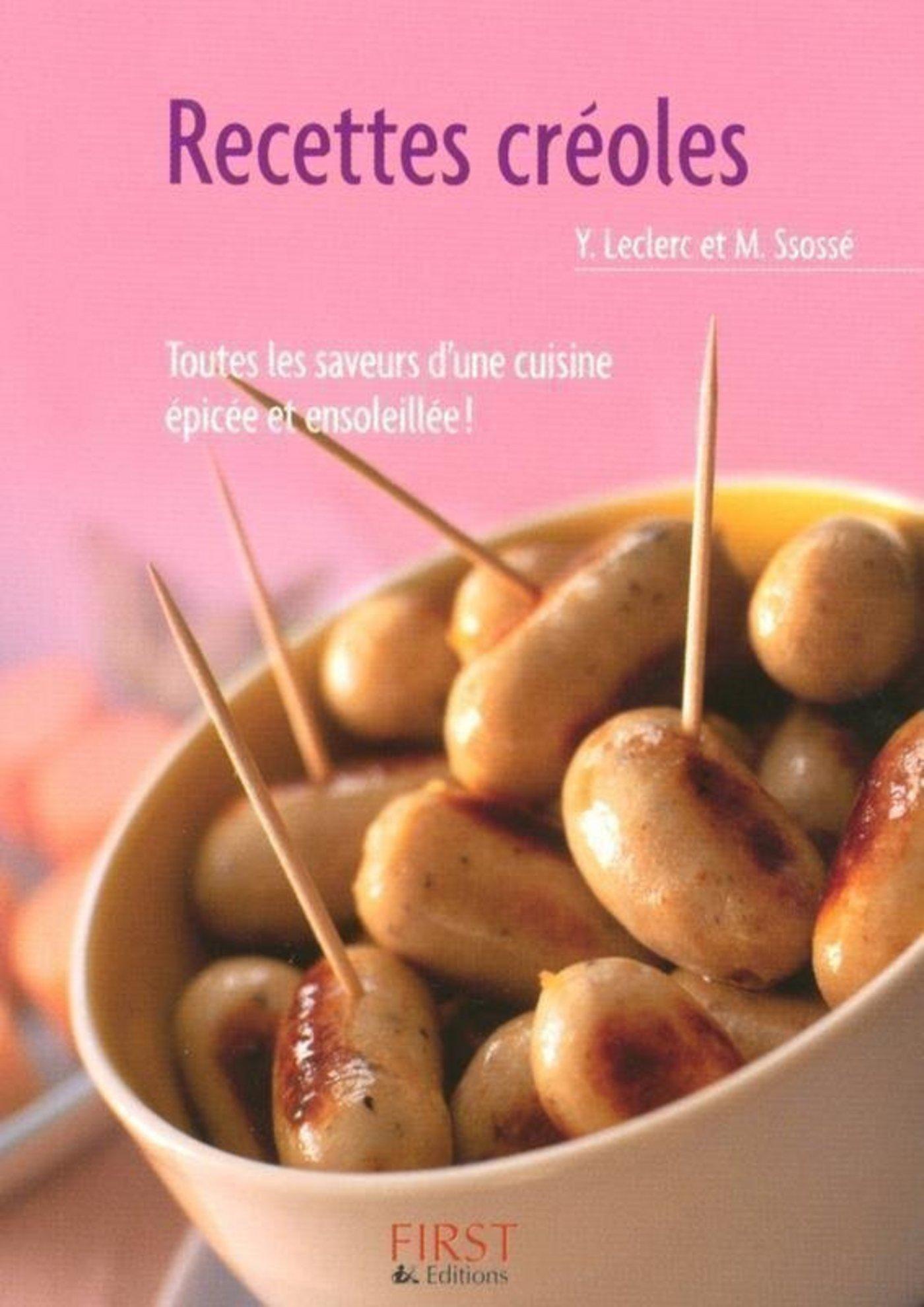 Le Petit Livre de - Recettes créoles (ebook)