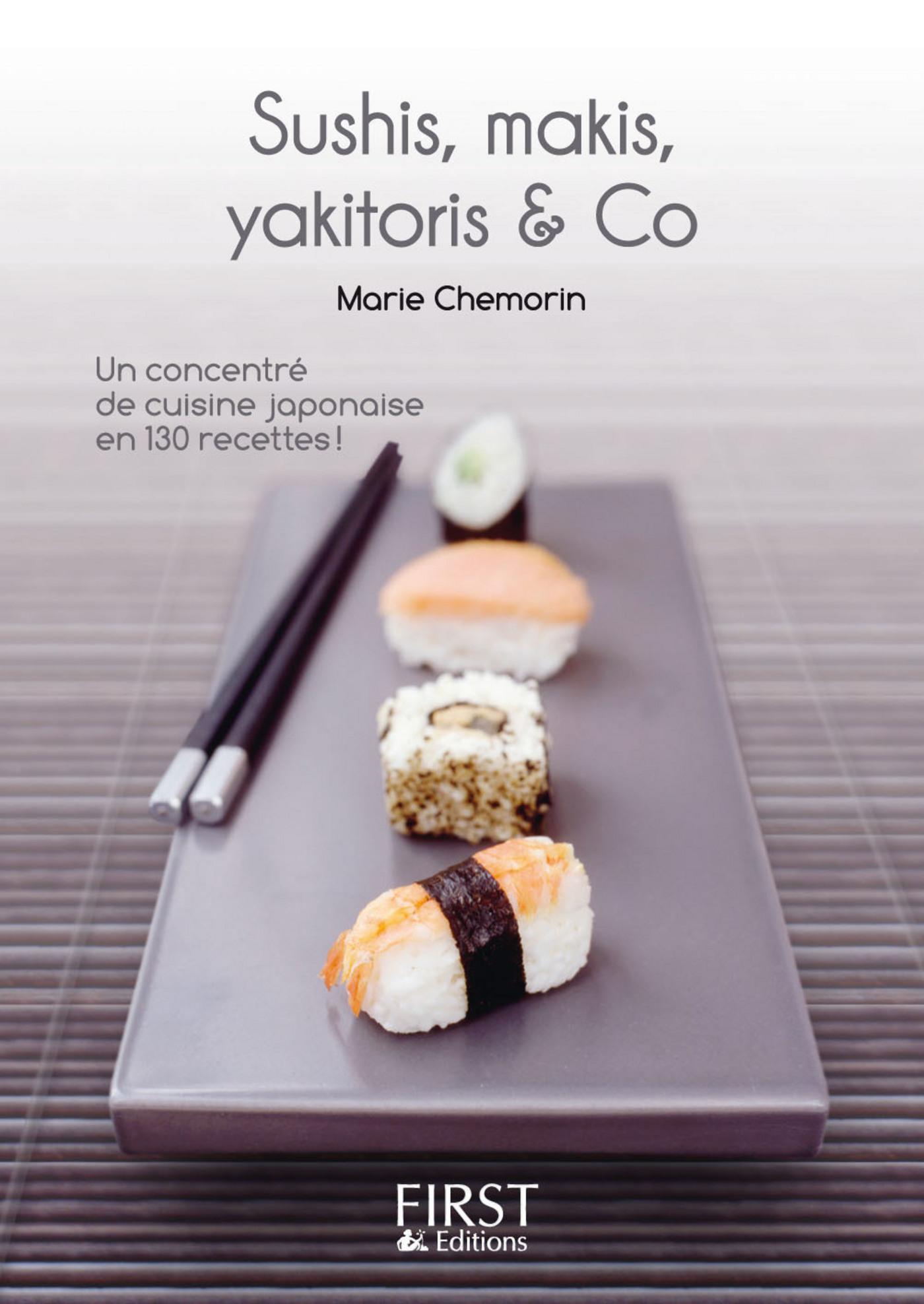 Le Petit Livre de - Sushi, maki, yakitori, bento and Co (ebook)
