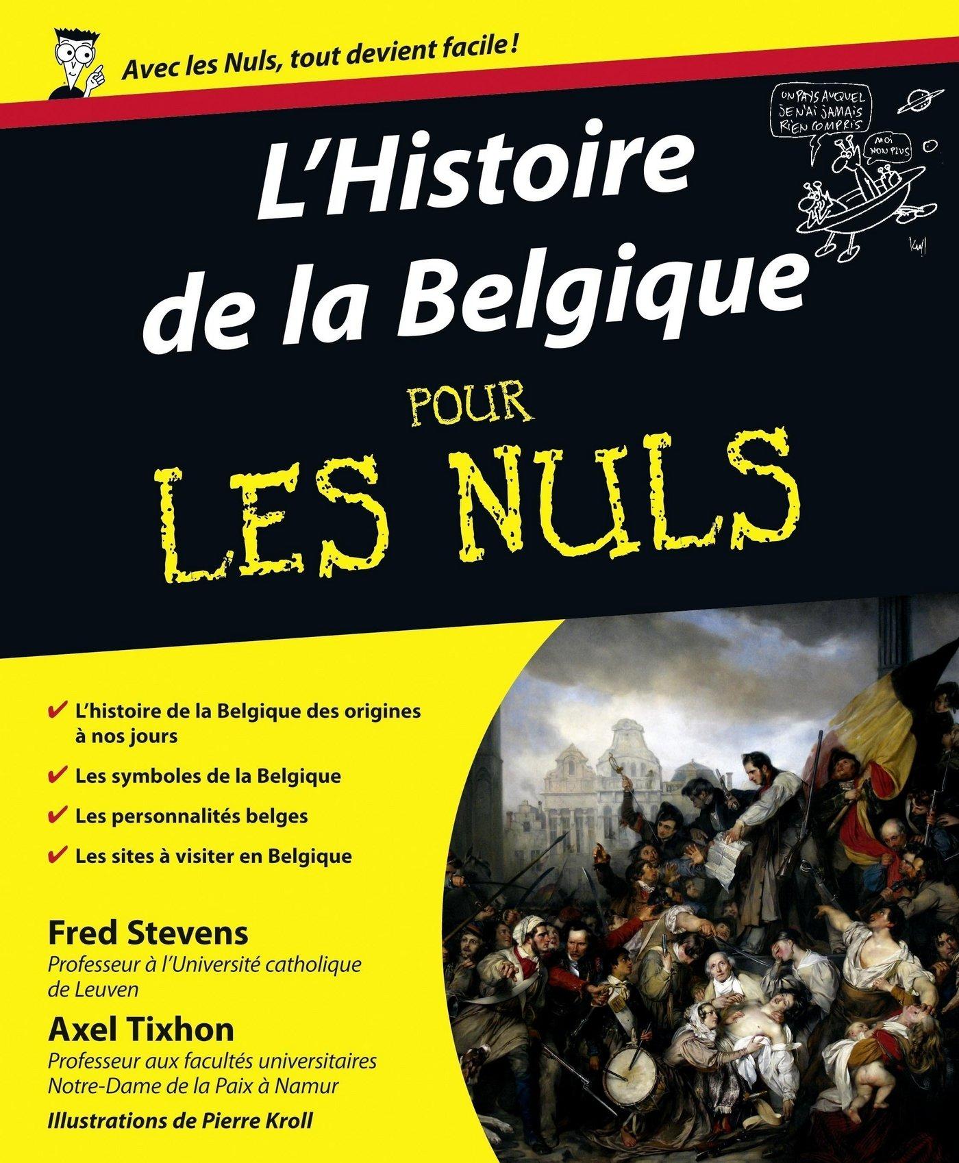 L'Histoire de la Belgique Pour les Nuls (ebook)