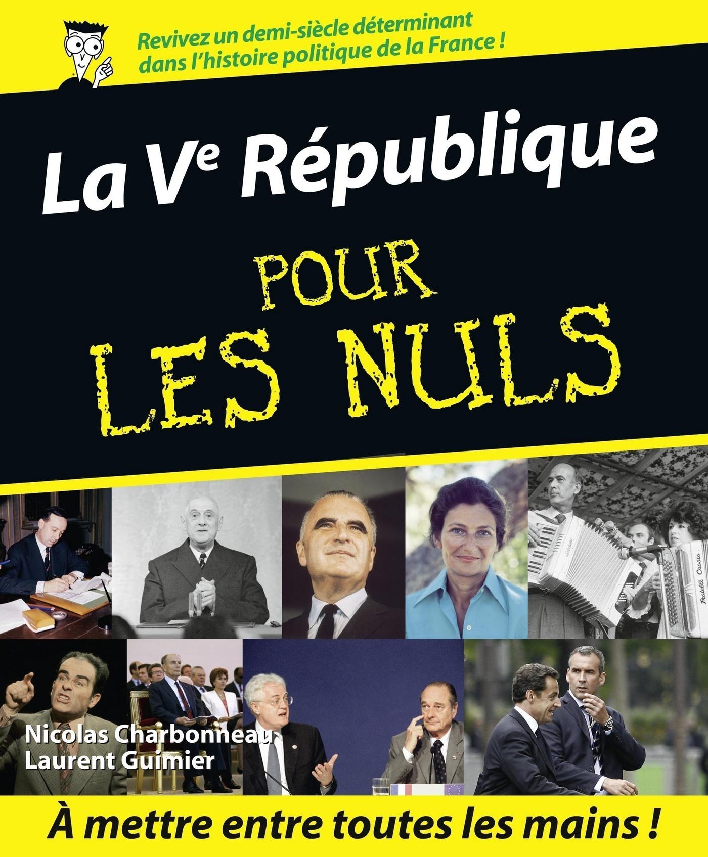 La Vème République Pour les Nuls (ebook)
