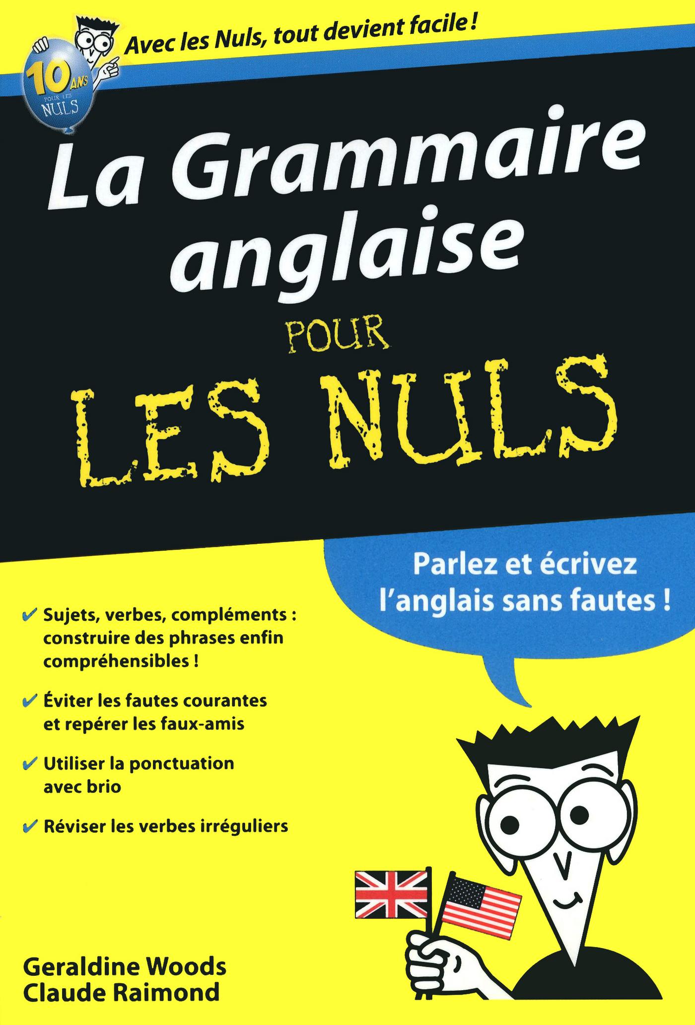 La Grammaire anglaise poche Pour les Nuls (ebook)