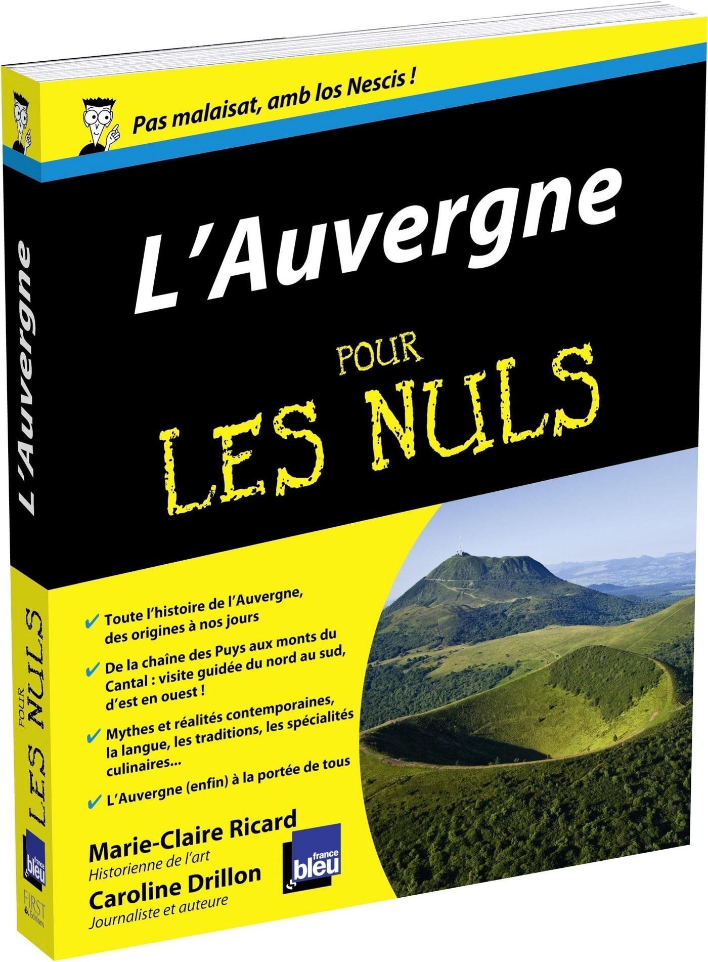 L'Auvergne Pour les Nuls (ebook)