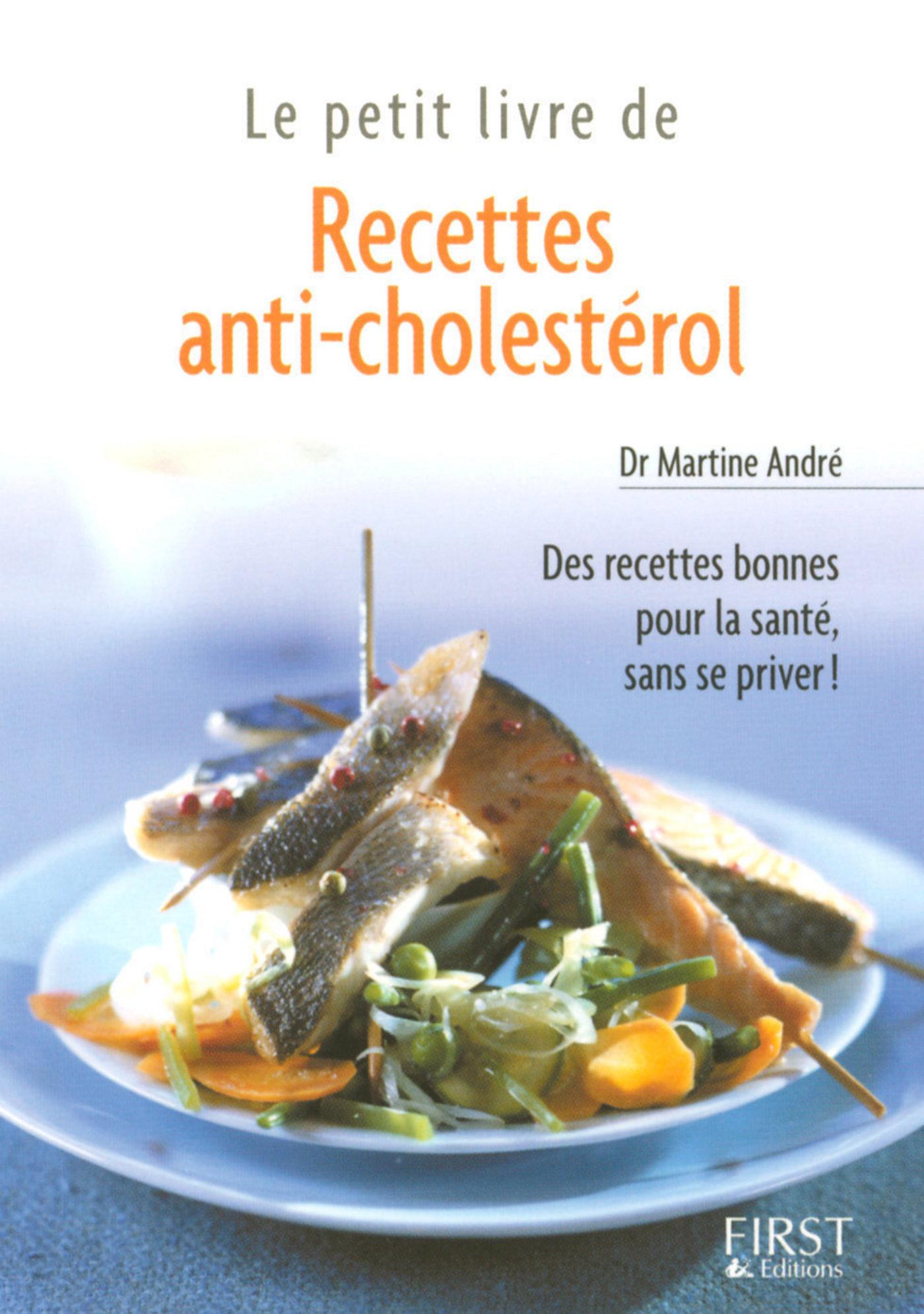 Petit livre de - Recettes anti-cholestérol (ebook)