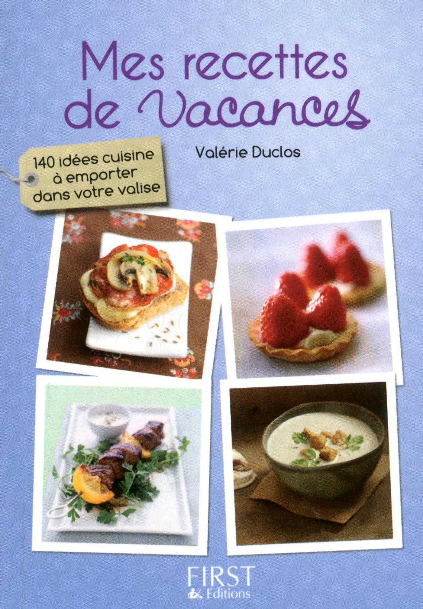 Petit livre de - Mes recettes de vacances (ebook)