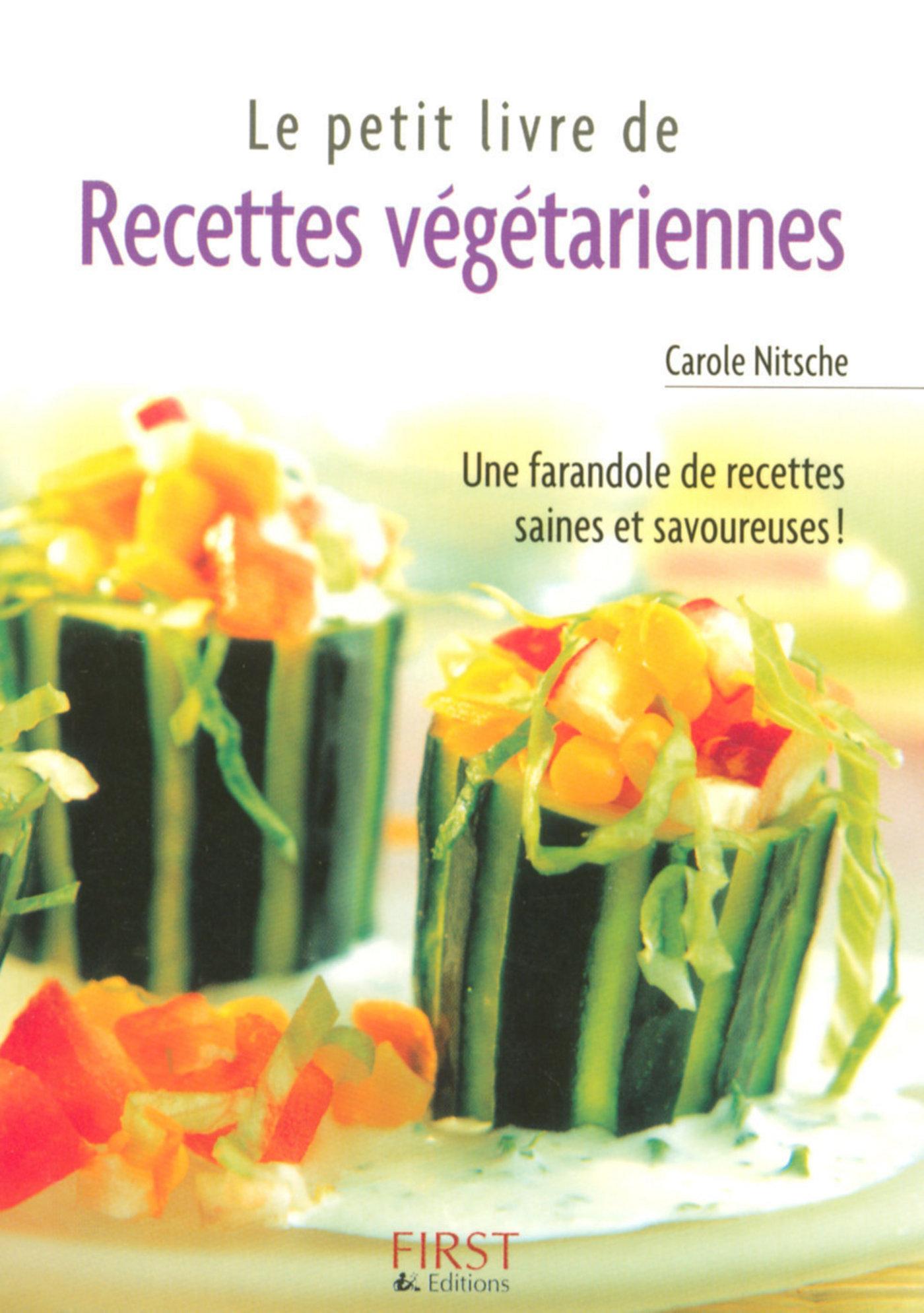 Petit livre de - Recettes végétariennes (ebook)
