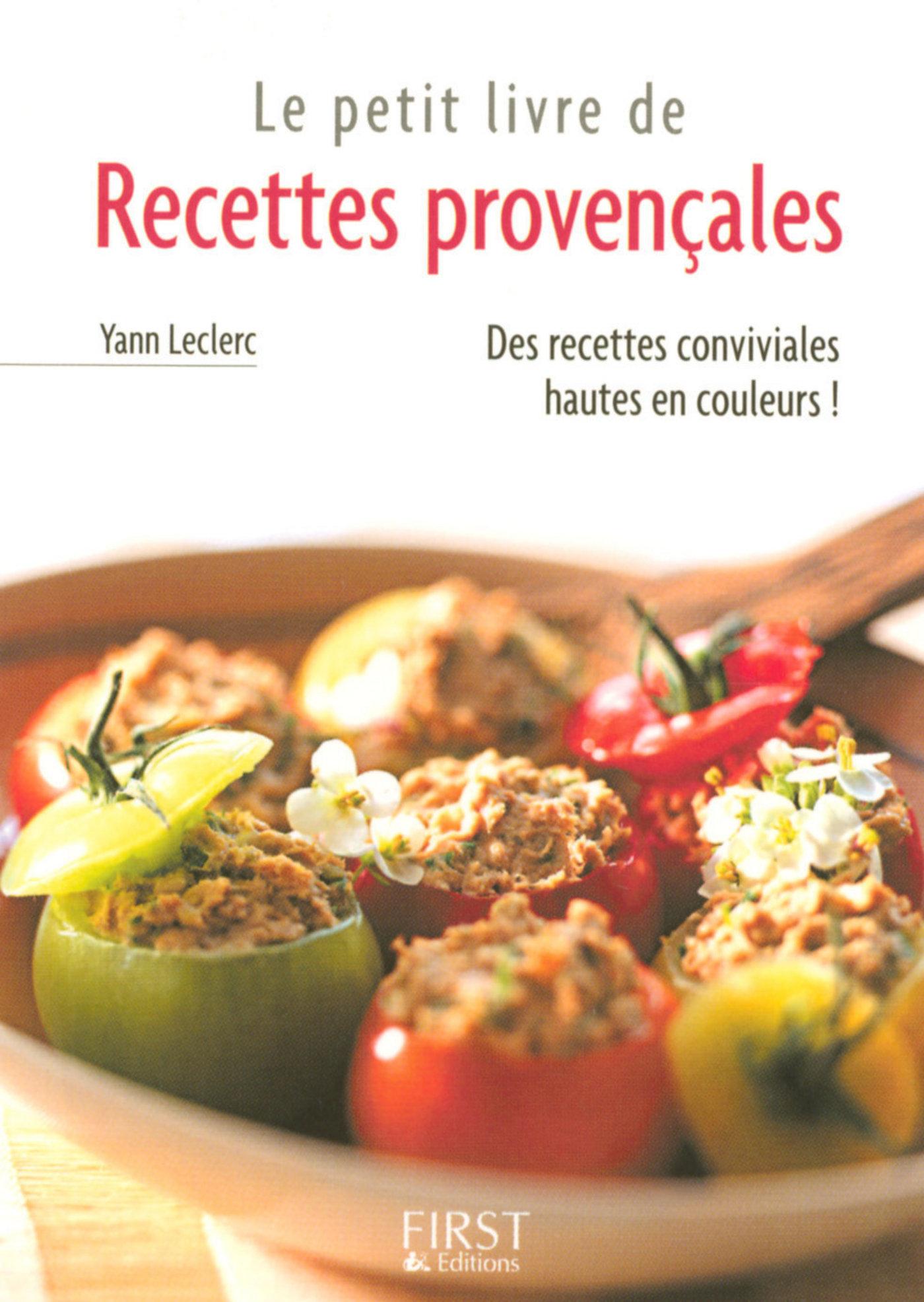 Petit livre de - Recettes provençales (ebook)