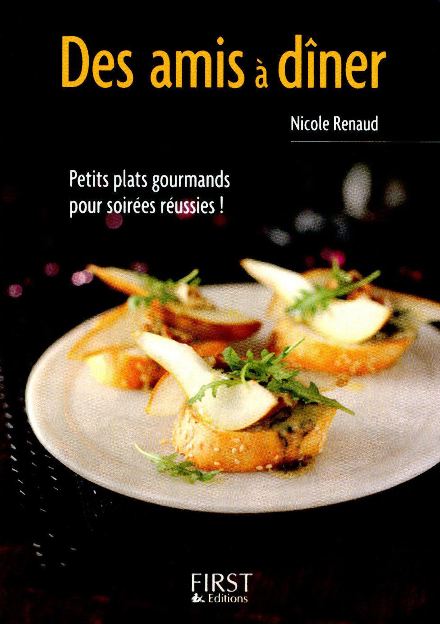 Petit livre de - Des amis a dîner (ebook)