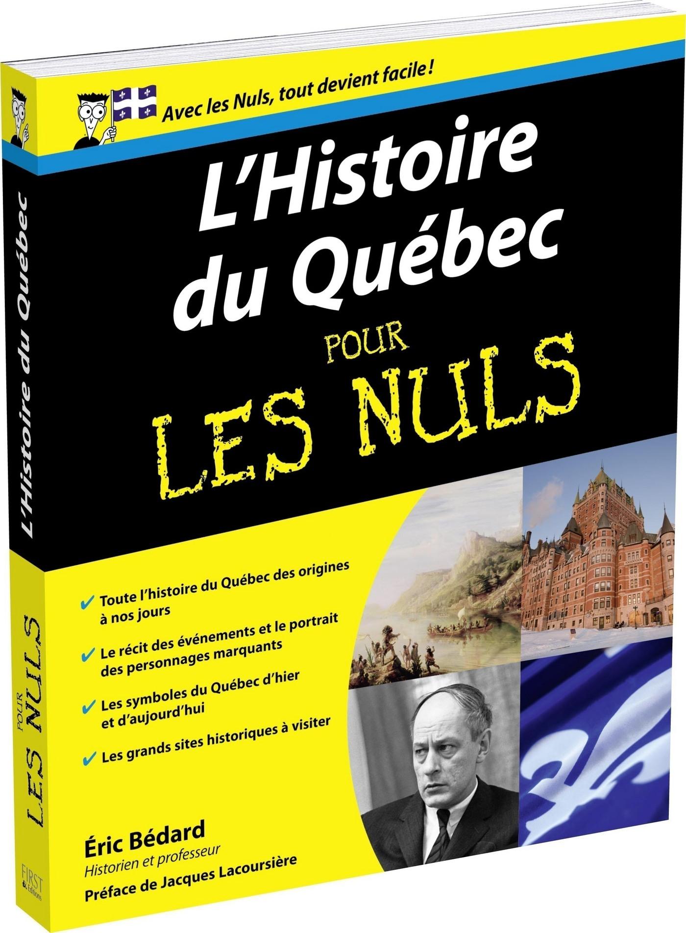 Histoire du Québec Pour les Nuls (ebook)