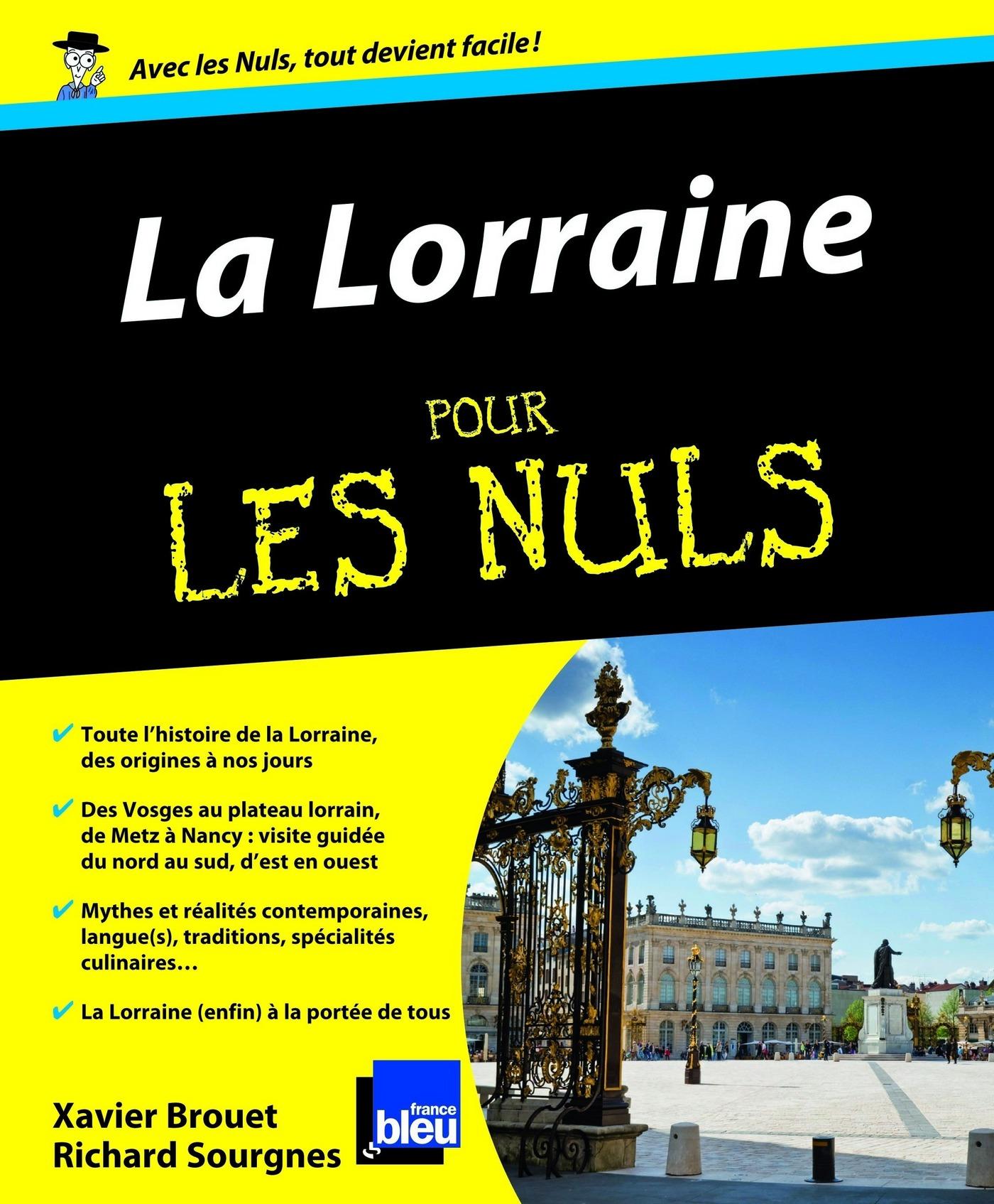 La Lorraine Pour les Nuls (ebook)