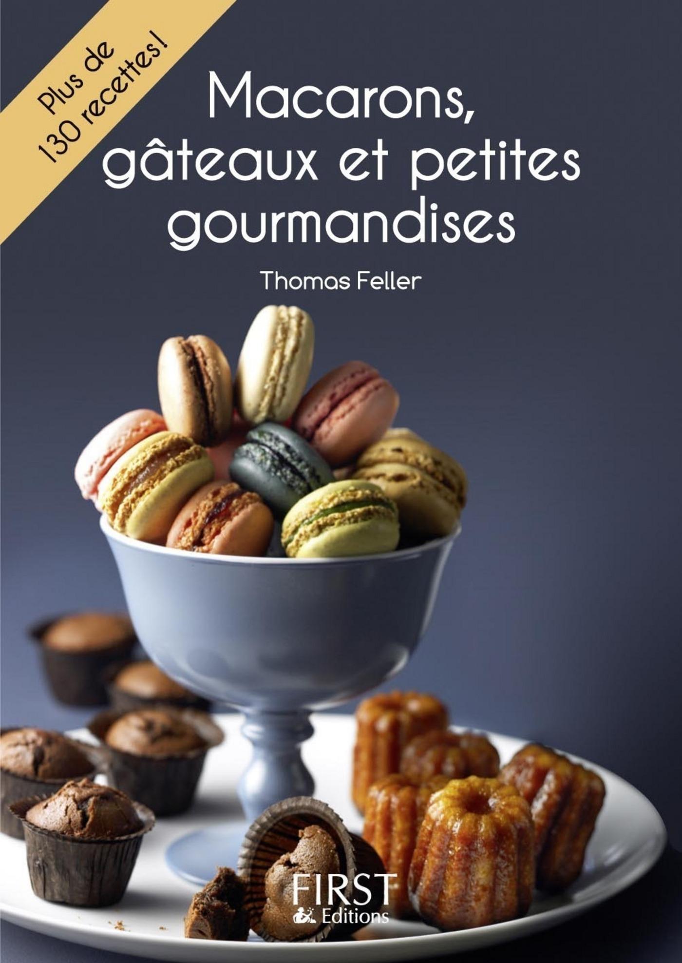 Petit livre de - Macarons, gâteaux et petites gourmandises (ebook)